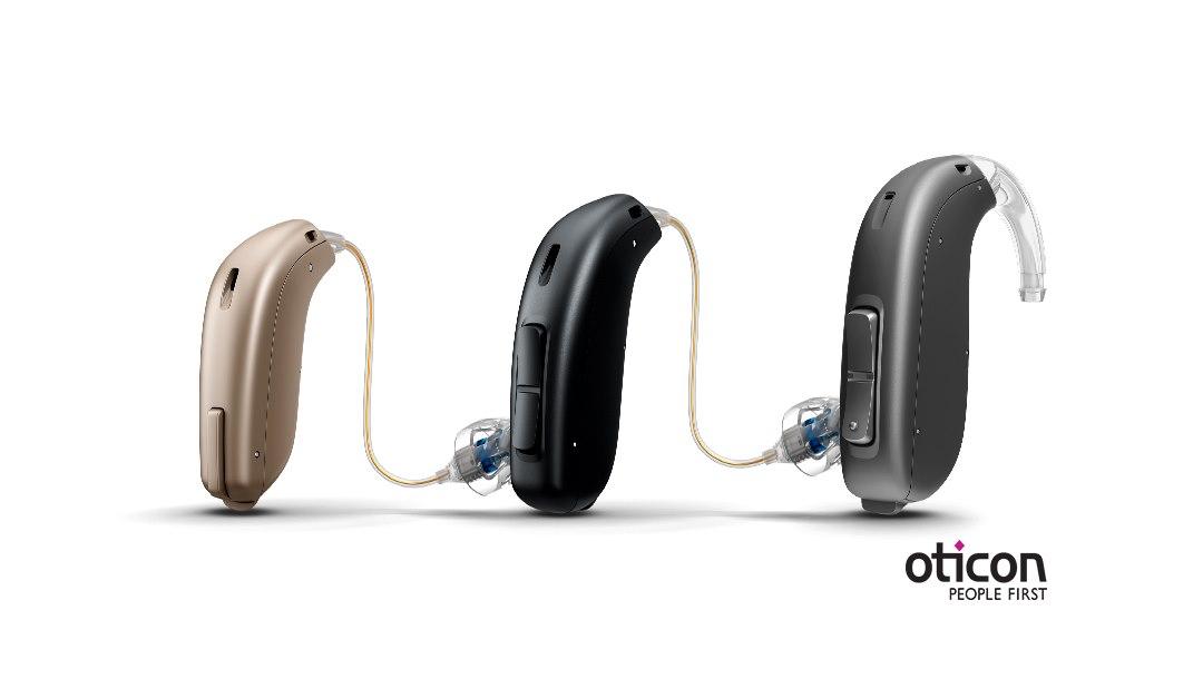 Kuvassa Oticon-kuulokojeiden uusi tuoteperhe